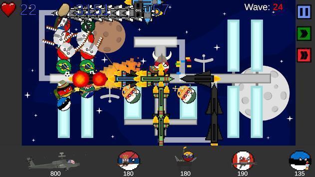 国家球塔防御游戏图1
