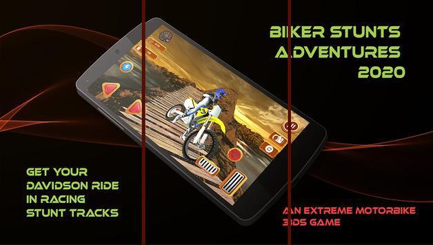 骑摩托车的特技冒险2020图2