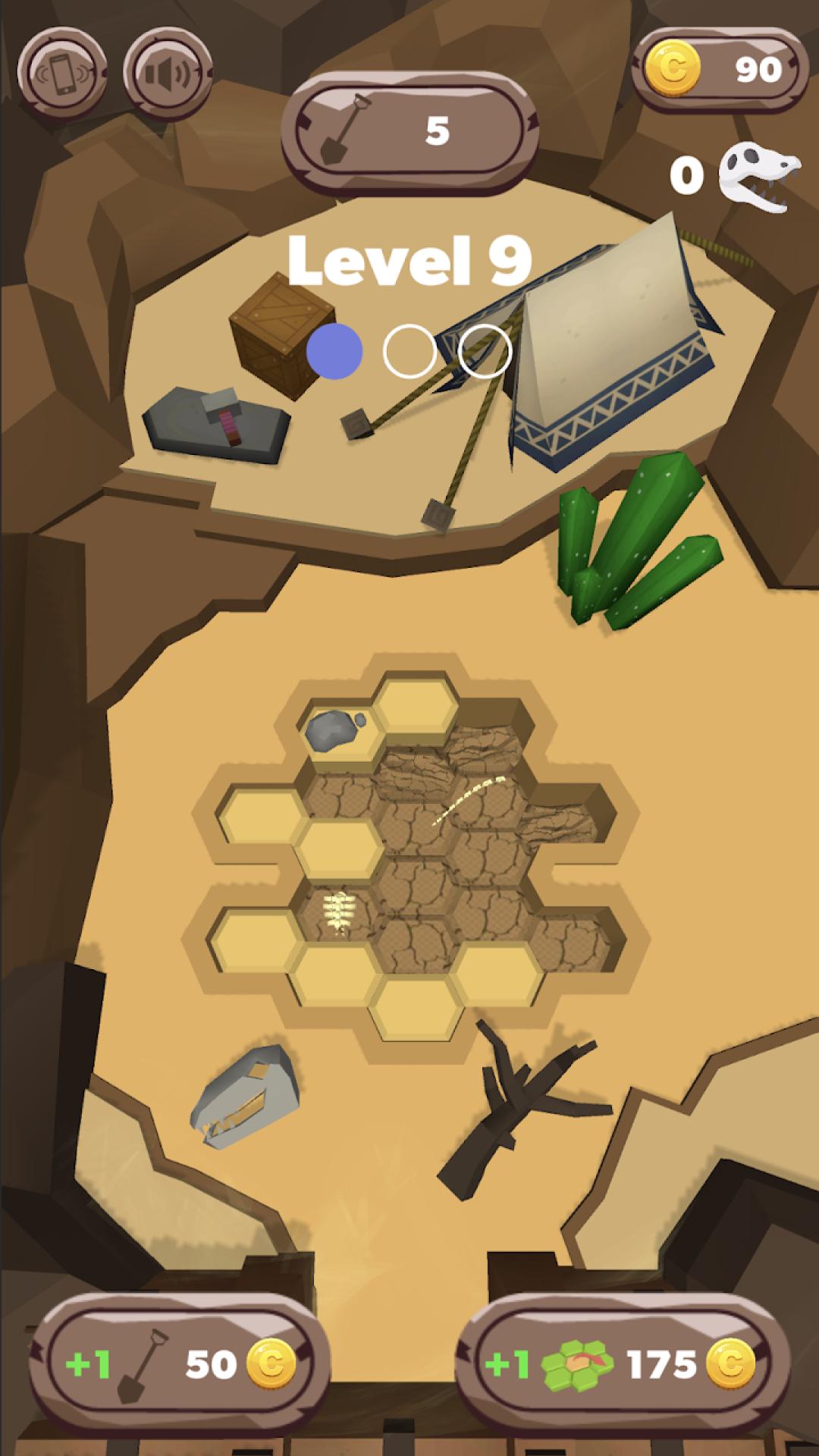 化石挖掘模拟器图4