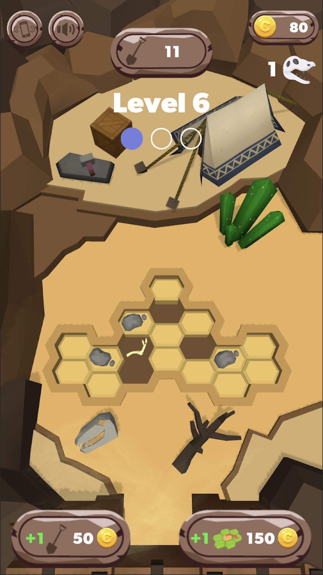 化石挖掘模拟器图2