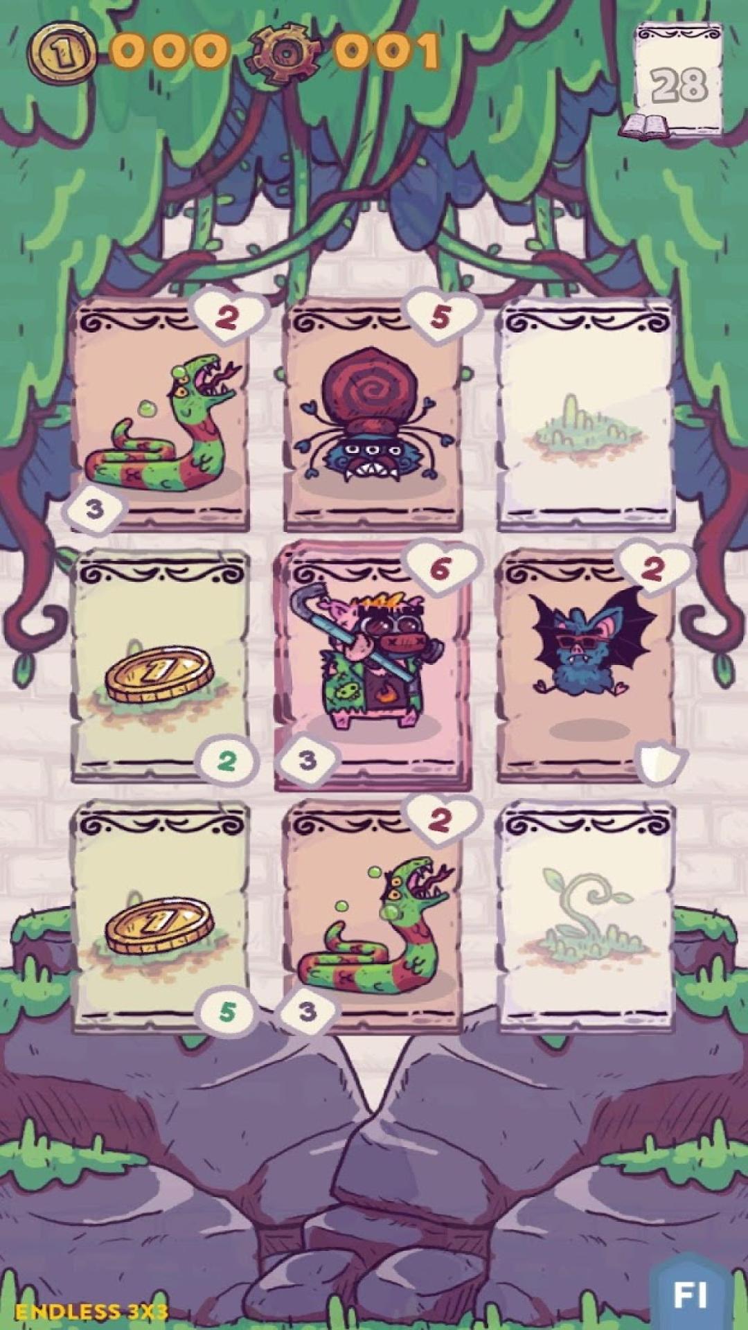 卡片猪地牢图1