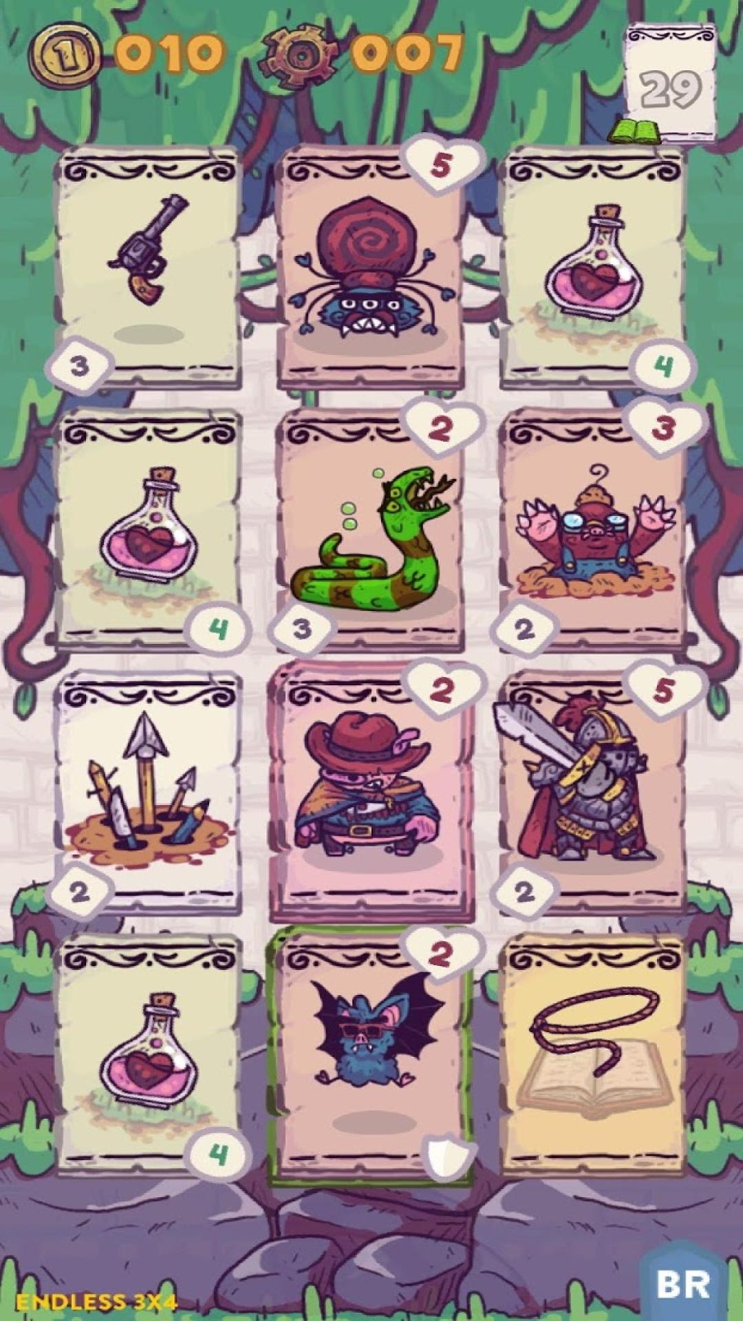 卡片猪地牢图2