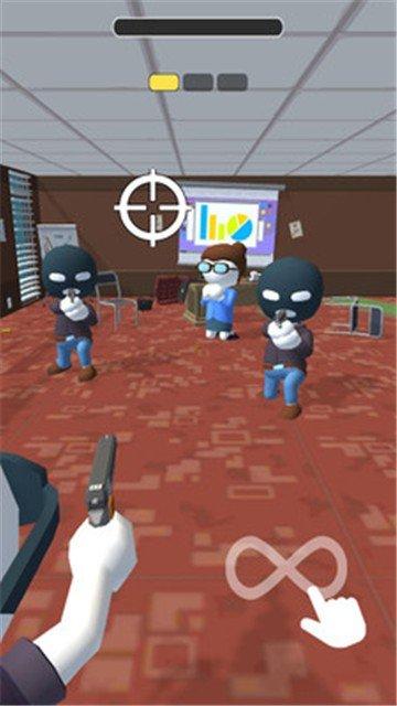 消灭劫匪游戏图1