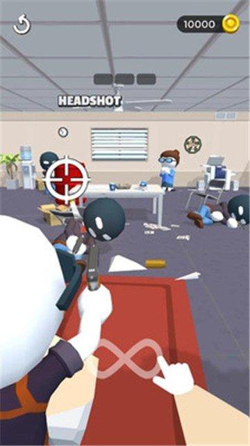 消灭劫匪游戏图2