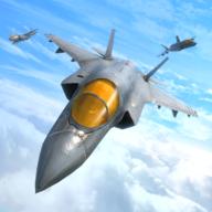 飞机强袭空中打击