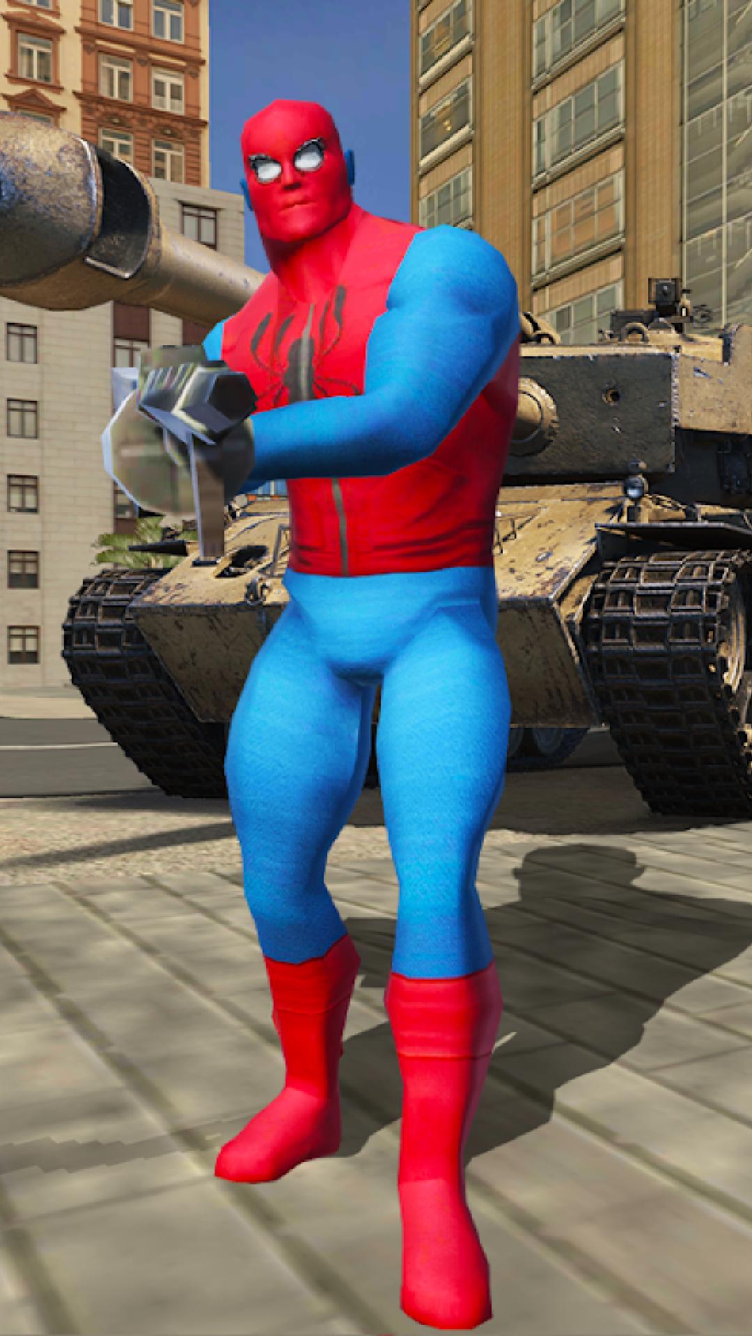 赛博朋克蜘蛛侠图1