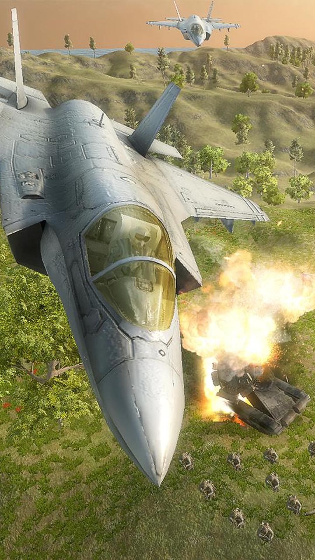 飞机强袭空中打击图2