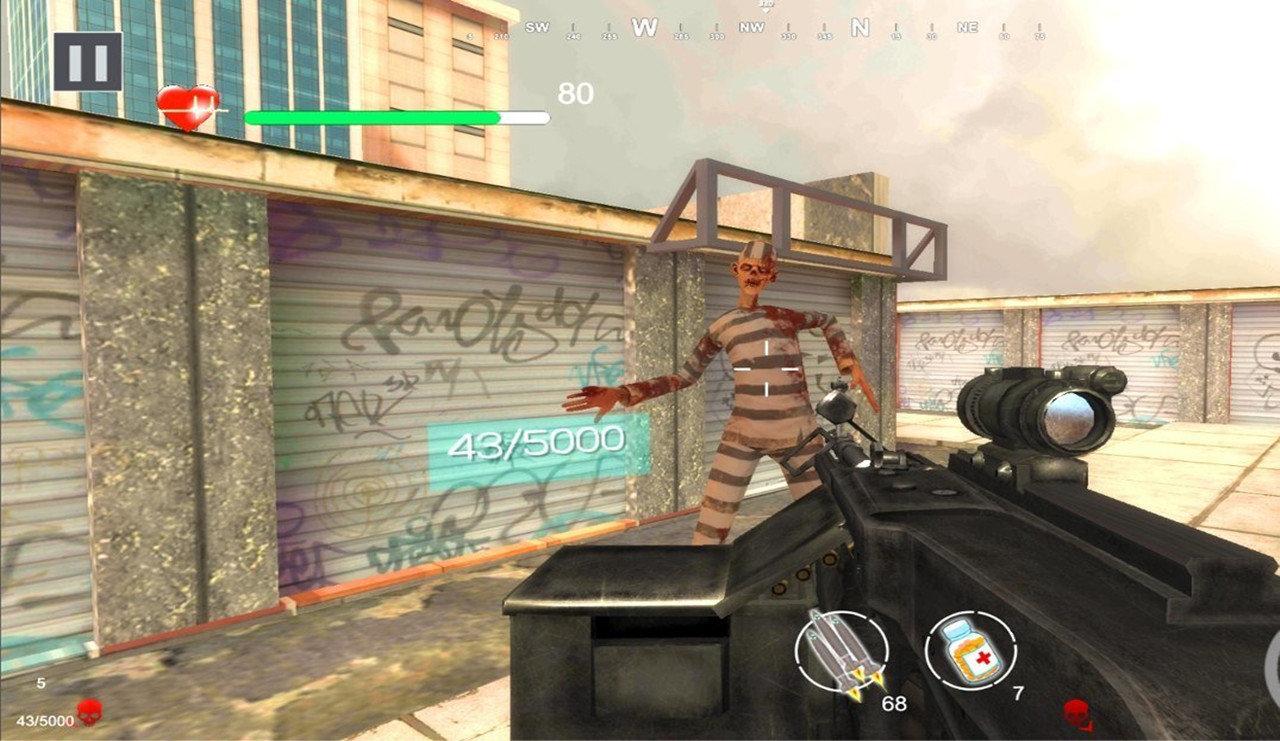 僵尸射手死亡恐怖手机版图1