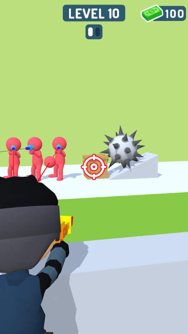 狙击手跑酷手机版