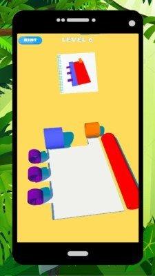 彩色的卷层正版图2