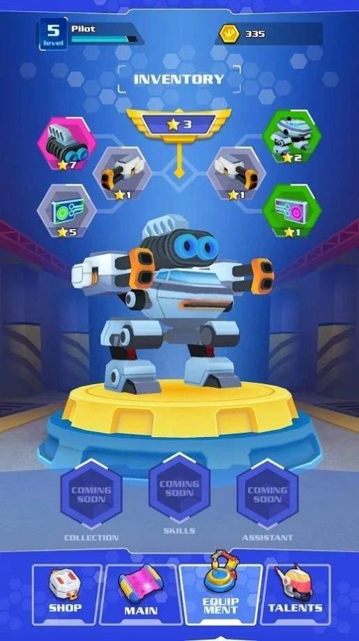 铁战机械战游戏