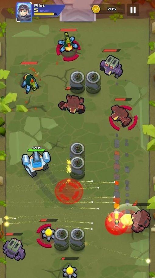 铁战机械战游戏图1