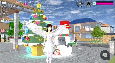 樱花校园模拟器天使服版中文版图3