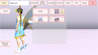 樱花校园模拟器天使服版中文版图1