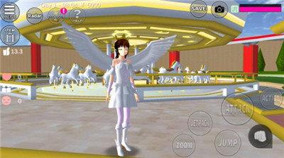 樱花校园模拟器天使服版中文版图2