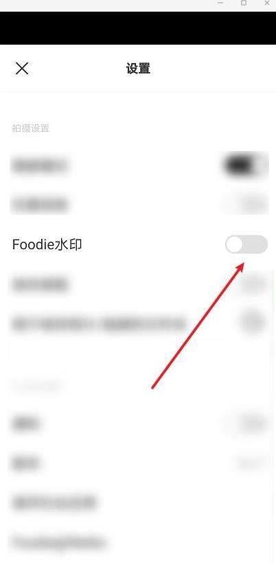 foodie相机