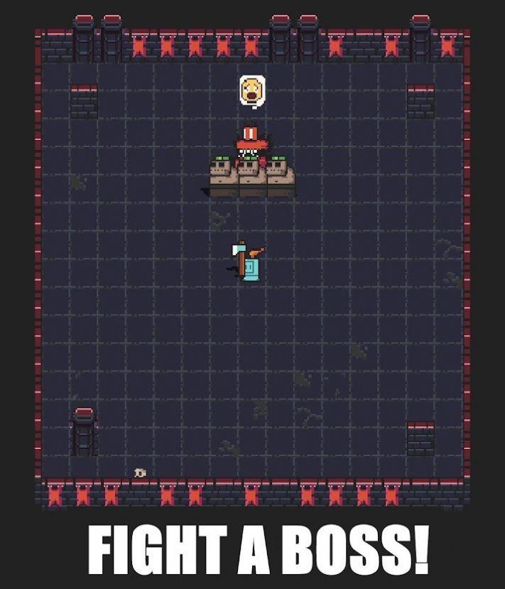 地牢爬行者电子骑士游戏安卓版手机版图1