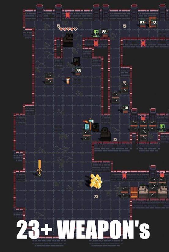 地牢爬行者电子骑士游戏安卓版手机版图2