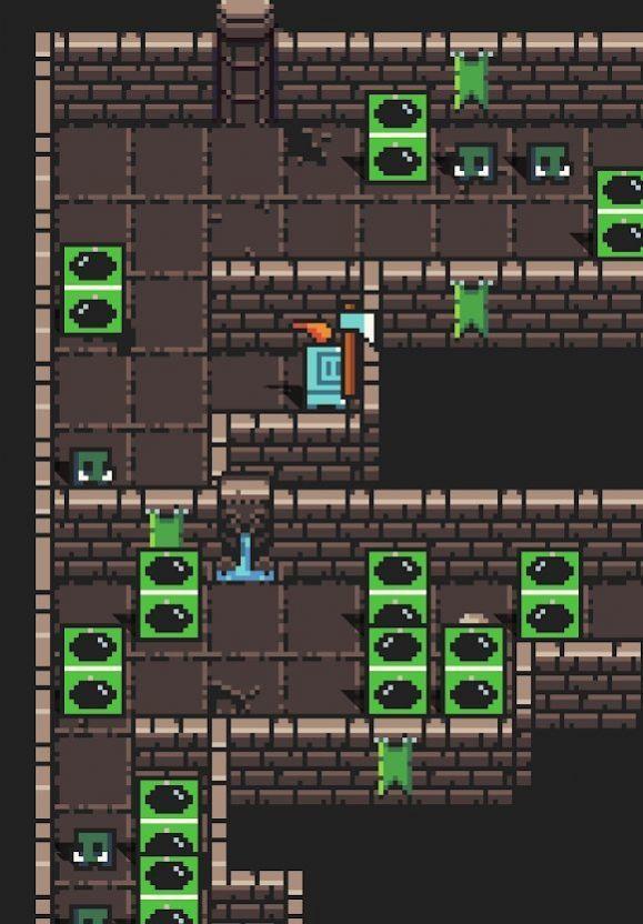 地牢爬行者电子骑士游戏安卓版手机版图3