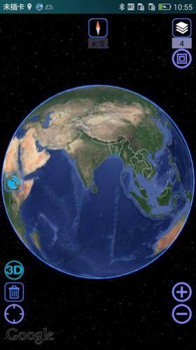奥维地图2021高清卫星地图图1